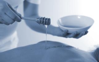 Лечение остеохондроза медом: массаж и техники применения