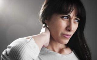 Симптомы начального этапа и острого периода хондроза шейного позвонка