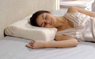 Как правильно спать при шейном остеохондрозе: поза, выбор подушки и матраса