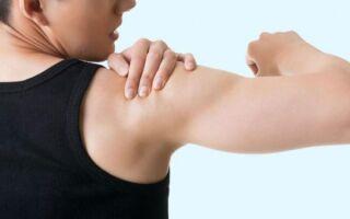 Хруст в плечевом суставе при поднятии руки