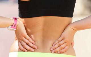 Болит спина в области поясницы справа и отдает в ногу