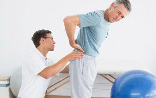 Какой врач лечит боли в спине