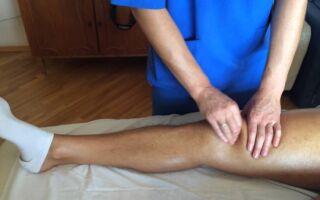 Массаж коленей при артрозе