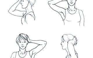 Упражнения для шейного отдела позвоночника при остеоондрозе