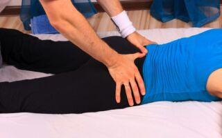 Массаж при артрозе тазобедренного сустава