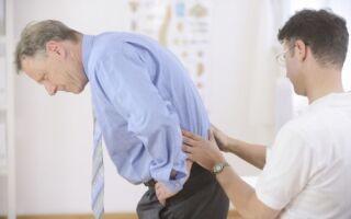 Защемление нерва в пояснице: причины, симптомы